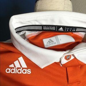 adidas Other - Adidas Man Polo Shirt MV COACHES POLOOrange Size L